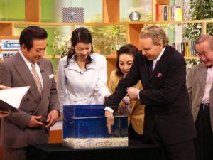 日本テレビ「ザ・ワイド」 ドクターフィッシュを体験!