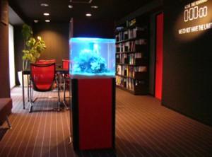 企業様 室内と調和がとれたお洒落な水槽です