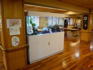 介護施設様 談話室内の中心に癒しをご提供
