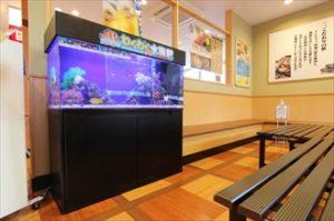 大手回転寿司チェーン店様 店内を盛り上げます!
