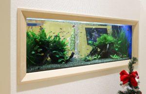 歯科医院様 お子様が喜ぶ熱帯魚水槽